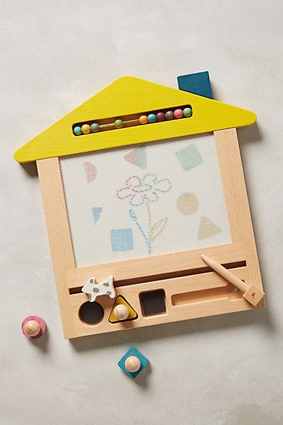 Magnetic Doodle House - anthropologie.com #anthroregistry