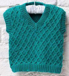 Baby tank top knitting pattern free