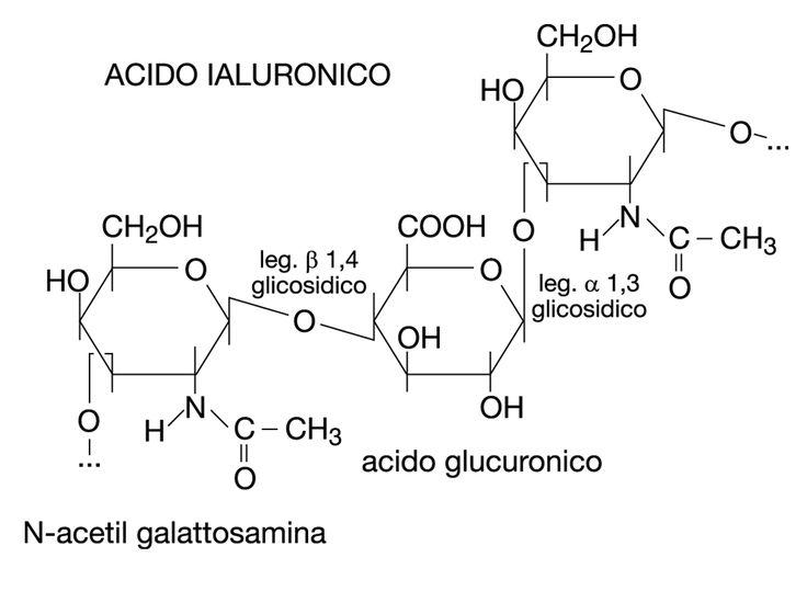 #ACIDOJALURONICO (IALURONATO DI SODIO) è uno dei fattori idratanti naturali ed endogeni della pelle (NMF). Composto da 2 unità Saccaridiche: Acido D-glucoronico e N-Acetil-D-Glucosammina, si presenta sotto forma di polvere bianca ed è altamente igroscopico. Viene ricavato tramite formazione batterica. Questo Sodio Ialuronato ad una concentrazione dell'1% in acqua crea un gel fermo con spiccate proprietà idratanti.
