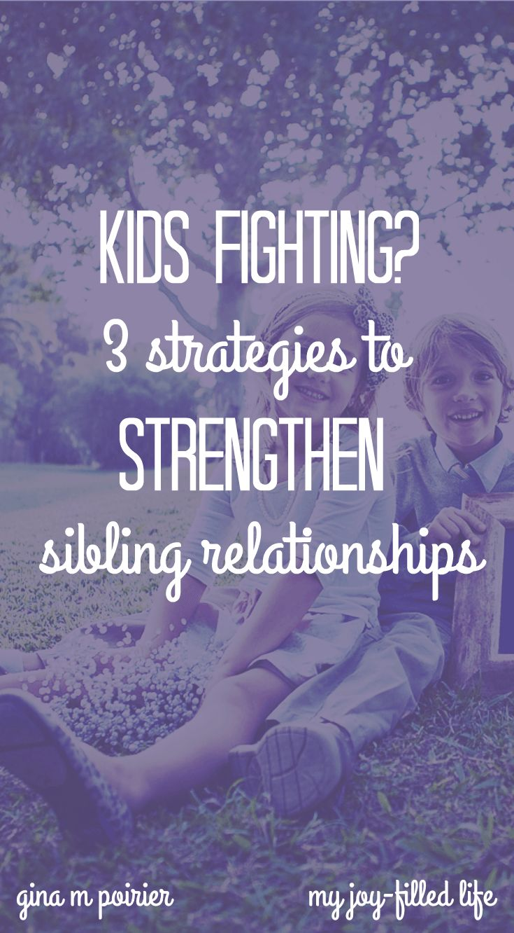 Kids Fighting | Sibling Rivalry | Family Culture