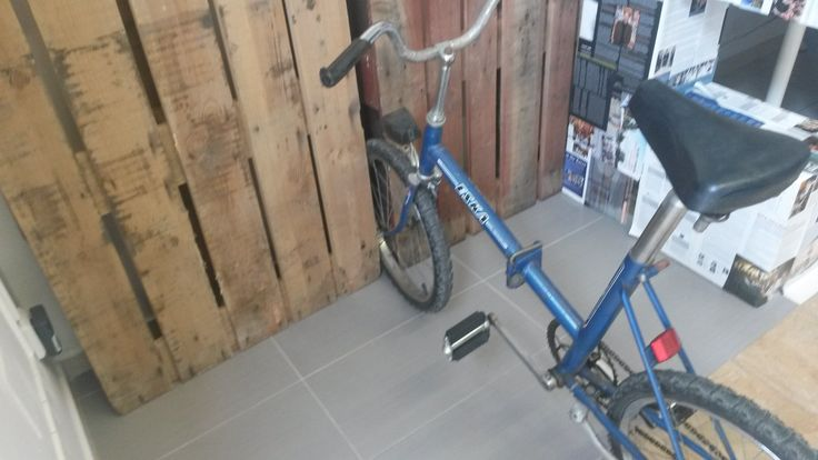 Bicycle ESKA can be park everywhere