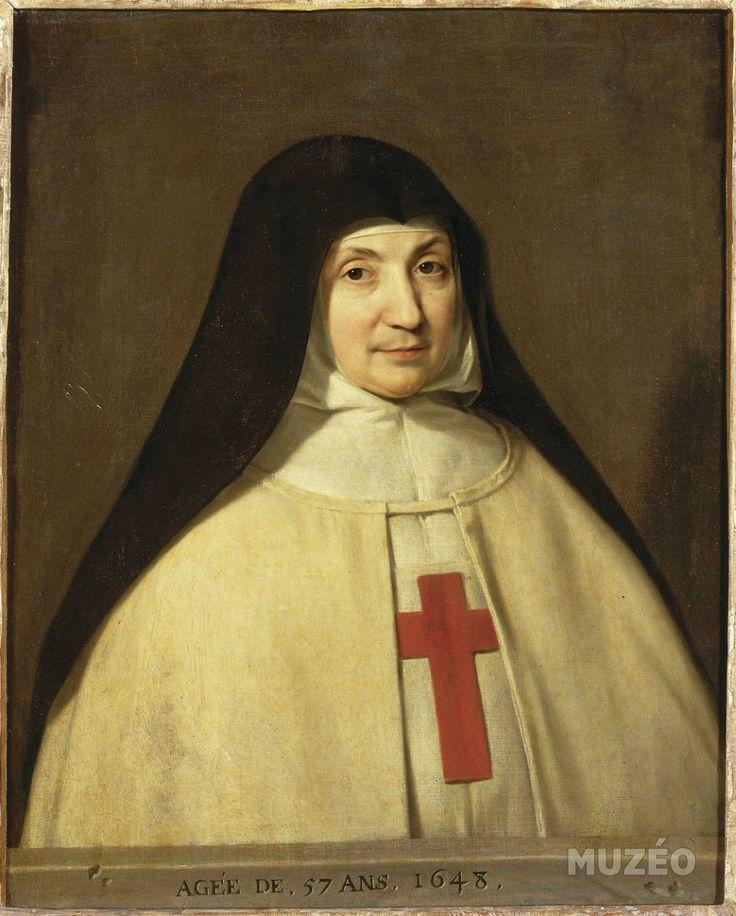 Jacqueline-Marie-Angélique Arnauld (en religion mère Angélique de sainte-Madeleine) by Champaigne Philippe de – Art print, wall art, posters and framed art