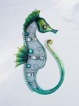 """Nástěnná dekorace """"Mořský koník"""""""