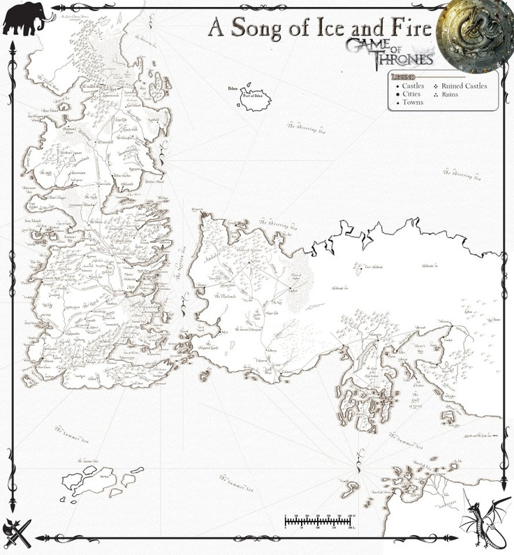 picture regarding Game of Thrones Printable Map known as Sport Of Thrones Map Of Essos - World wide Maps