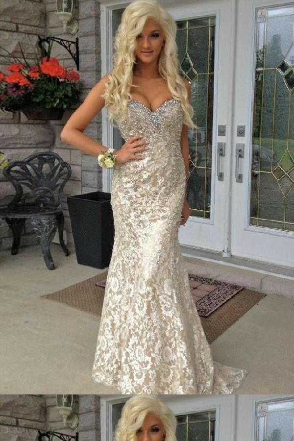 bf1705edf105 Cheap Fancy Champagne Prom Dresses