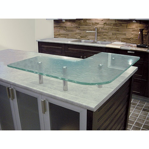 Trendy tempered glass countertop for the kitchen available at rona comptoir en best kitchen - Rona comptoir de cuisine ...