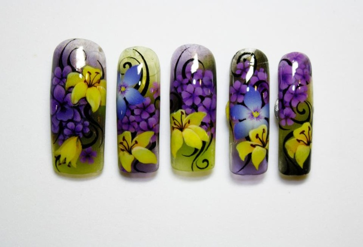 Nail Art by Pisut Masanong   #nail #nails #nailart