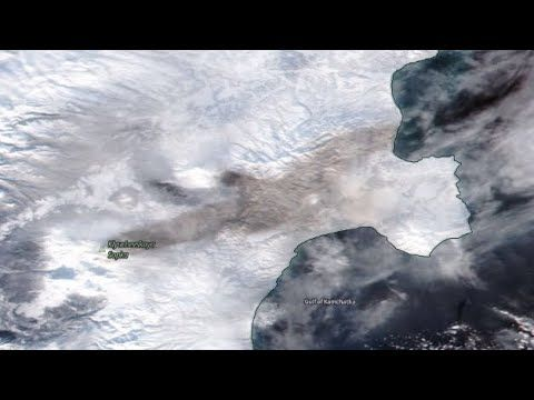 Volcano Bezymianny Blankets NE Russia with Ash/Earthquake Update/Weather...