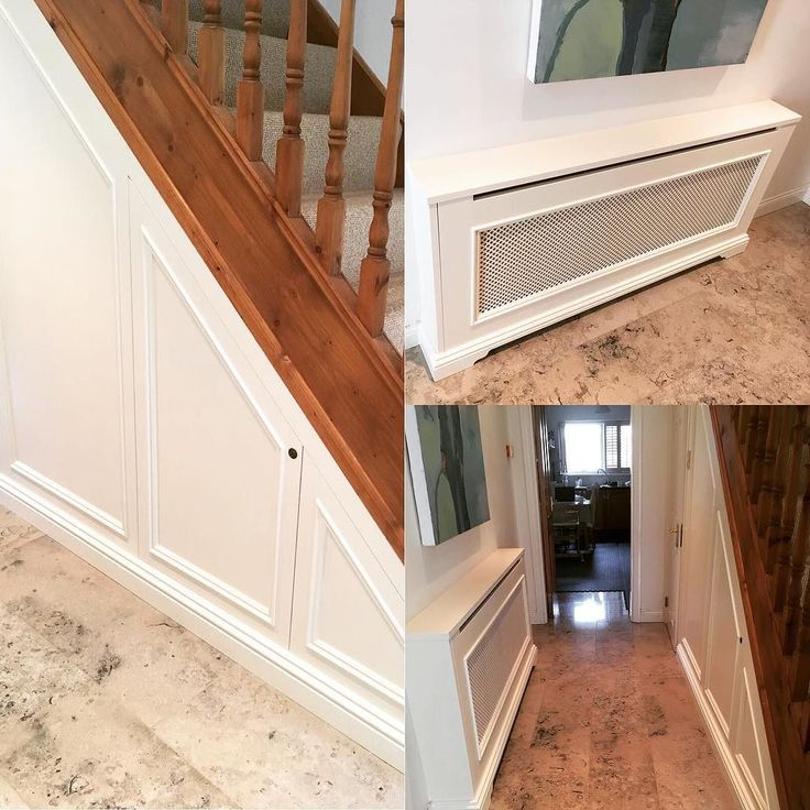 Under stairs storage and radiator cabinet installed in Stepaside last week. Call 018359555 for a free in-house consultation or drop into our showroom in the heart of Monkstown Village #recent #understairstorage #stepaside #irishhomes #irishinteriors #newhampshireinteriors #bespokefurniture