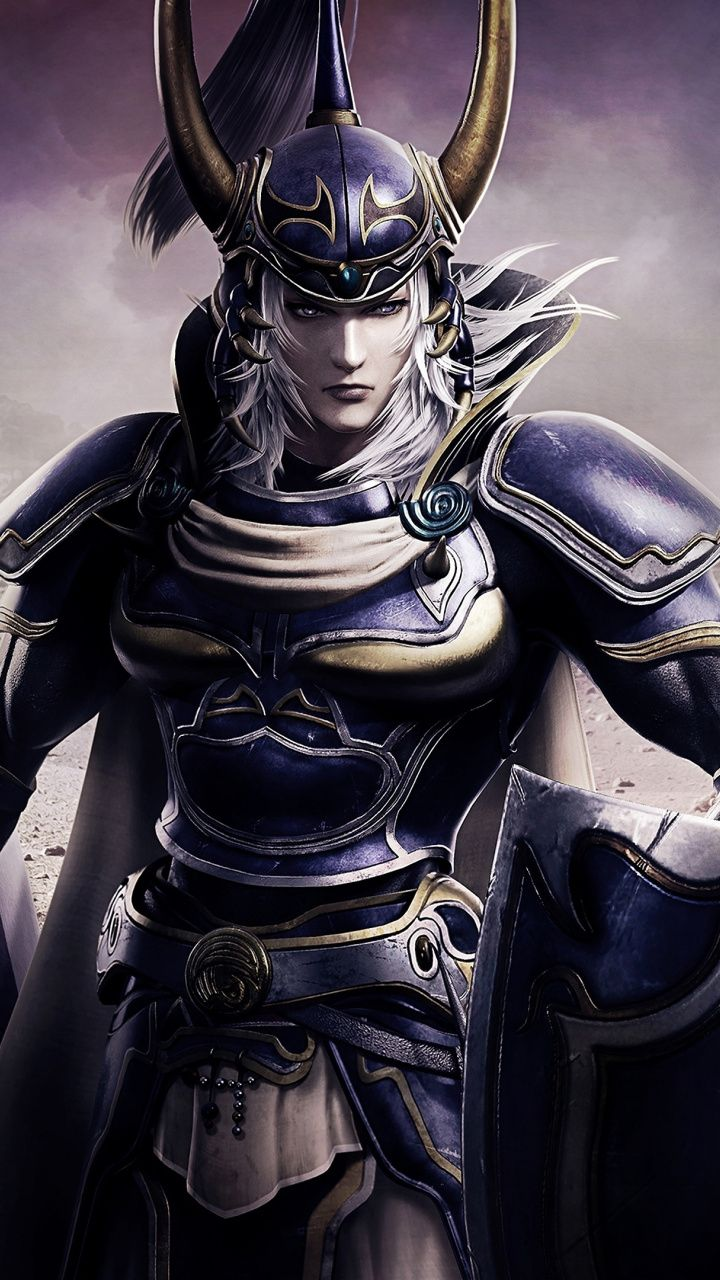 Dissidia Final Fantasy Nt Console Game Warriors 720x1280 Wallpaper