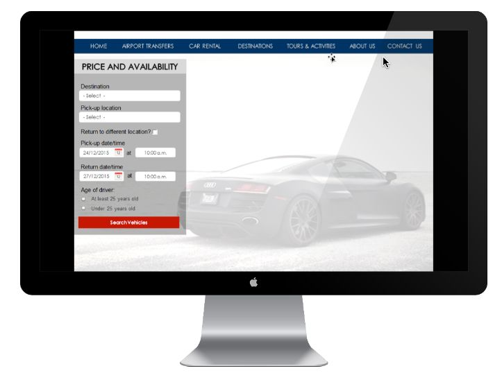 Car Hire Module  In order to allow end users, sales representatives and inside sales representatives to create and confirm car rental reservations; additional functionality was added in order to manage existing reservations. All communication with car rental suppliers is implemented through an API using the XML markup language.  The Car Rental Integration module is implemented only on