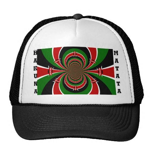 Vintage Habari Hakuna Matata Kenya Flag #Hakuna #Matata #Gifts, #Tee #Shirts, and more