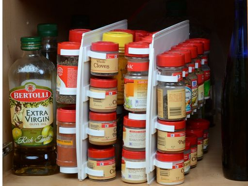 spice organizer 10 Great Kitchen Organization Products to Make Your Life Easier!