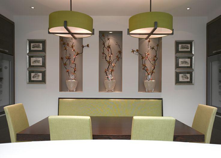 Lighting design by john cullen lighting · dining room light fixturesdining