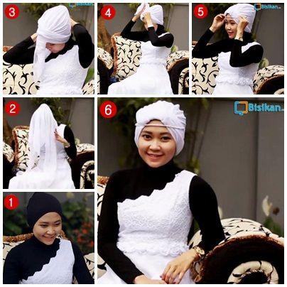Tutorial Hijab ke Pesta