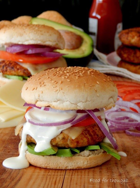 Food for thought: Μπέργκερ κοτόπουλου με παρμεζάνα