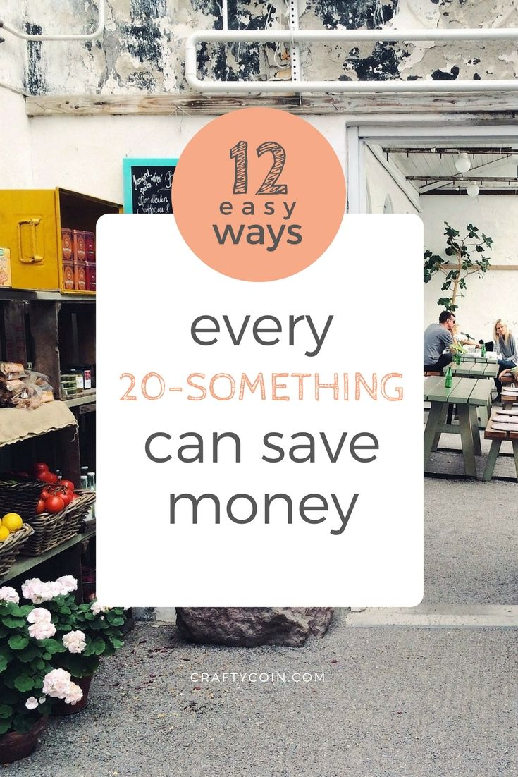 Here are 12 easy ways to save money in your 20s - like flying on budget airlines and shopping secondhand!