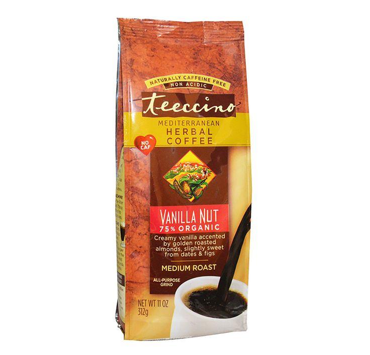 VANILLA NUT 75% ORGANIC HERBAL COFFEE 312g | Teeccino Cafe