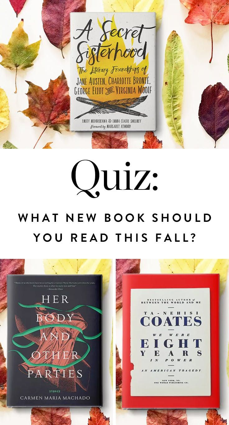 What New Book Should You Read This Fall?   via @PureWow
