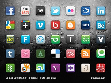 free-social-bookmark-icons