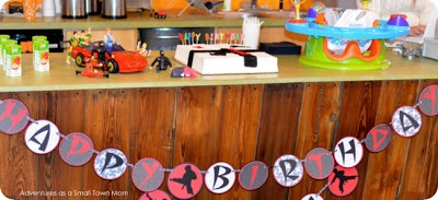 Adventures as a Small Town Mom    Chuck Norris Karate Birthday Party Theme