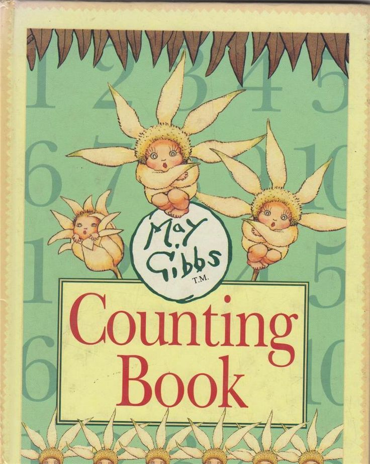 Counting Book By May Gibbs - S/Hand