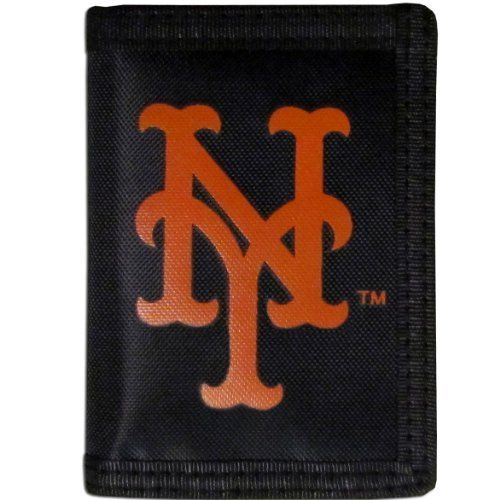 MLB New York Mets Velcro Tri-Fold Wallet by Siskiyou Sports  //Price: $ & FREE Shipping //     #sports #sport #active #fit #football #soccer #basketball #ball #gametime   #fun #game #games #crowd #fans #play #playing #player #field #green #grass #score   #goal #action #kick #throw #pass #win #winning