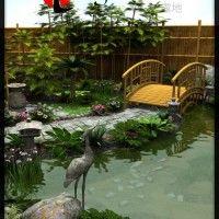 Japanese Tea Garden & Tea House bundle in Vendor, Merlin Studios,  3D Models by Daz 3D