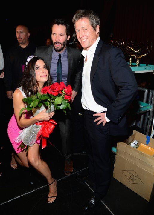Sandra Bullock, Keanu Reeves and Hugh Grant | Essential Film Stars, Hugh Grant http://gay-themed-films.com/film-stars-hugh-grant/