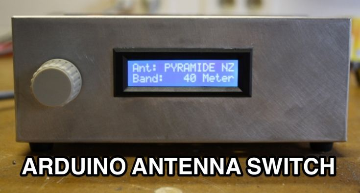 Antenna switch controlled by Arduino Uno
