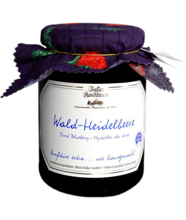 Wald-Heidelbeer-Marmelade aus der Konfitüren-Manufaktur Faller