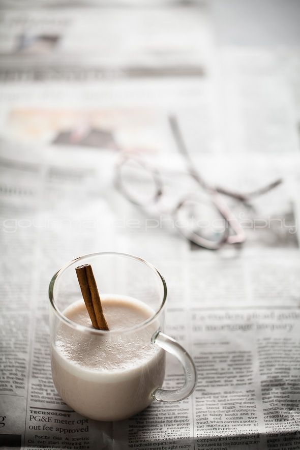 Hot Spiced Cashew Coconut Milk