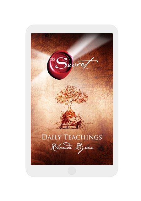 The Official Website of The Secret The Secret Daily Teachings Mobile App