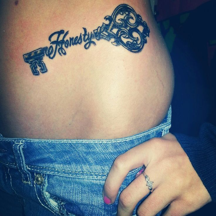25 best ideas about honesty key tattoos on pinterest