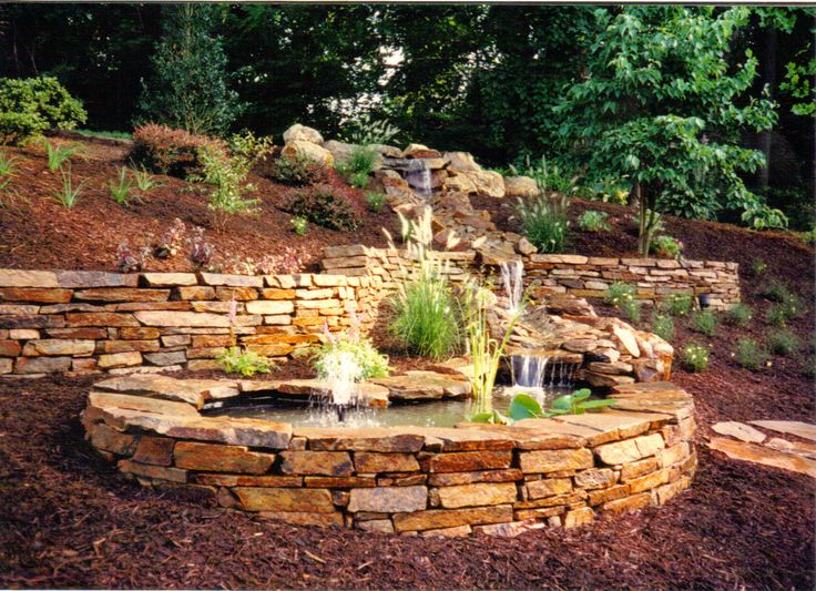 Waterfall fountain poolmaster pool spa waterfall fountain for Garden waterfalls do it yourself