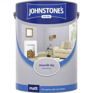 Johnstones Vinyl Matt Emulsion Moonlit Sky 5 Litre