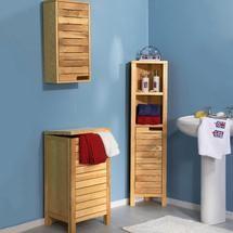 Milan Oak Bathroom Furniture Collection