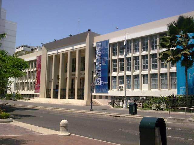 Biblioteca Municipal de Guayaquil is a public library in Guayaquil, Ecuador and is operated by the municipal government.