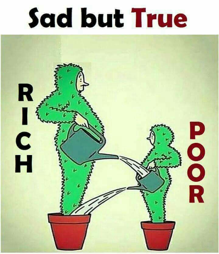 Poor is wealthy of humans pipolem