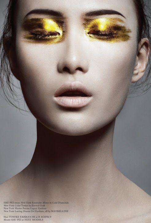 Gold Eyeshadow, Original Link N/A | Tumblr
