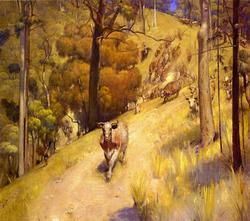 A Rocky Mountain Peak painting, aThomas Moran paintings reproduction, we never sell A Rocky Mountain Peak poster