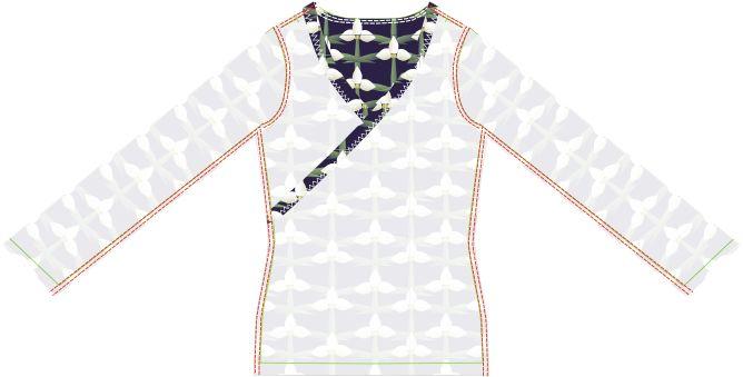 Materialien:  * Jersey (Breite 150cm)   - 140 cm ( Größe 34 )   - 140 cm ( Größe 36 )   - 145 cm ( Größe 3...