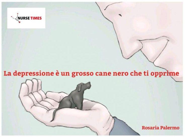 Nurse Times | La depressione è un grosso cane nero che ti opprime