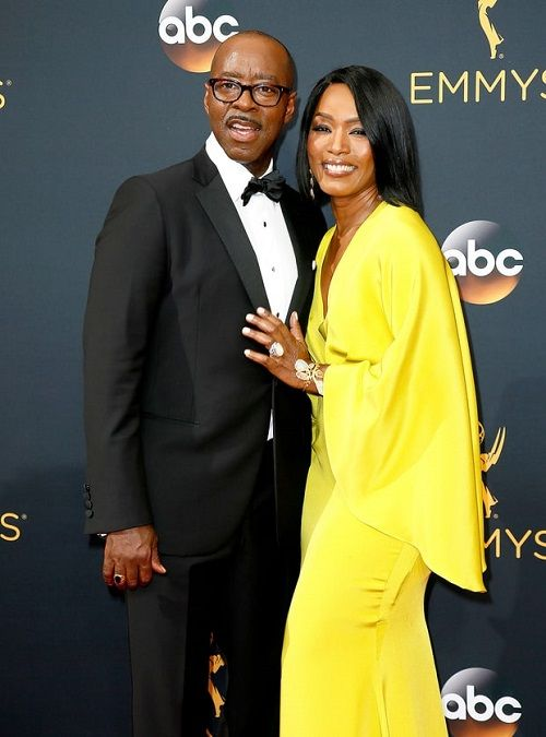 Angela Bassett and husband