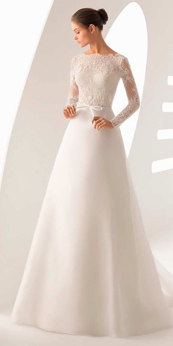 27 Winter Wedding Dresses Outfits Winter Wedding Dresses Outfits A Line Lace Long Sleeves Sim Wedding Dress Outfit Bride Dress Simple Fancy Wedding Dresses