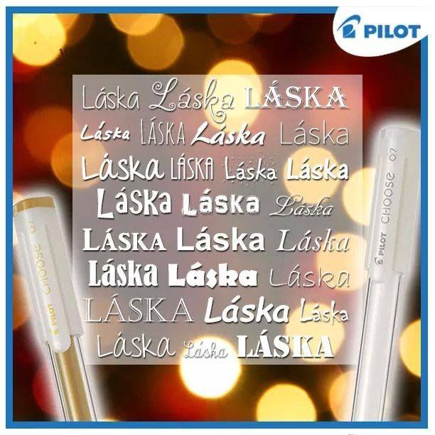 Vianoce sa nezadržateľne blížia a my máme v hlave jediné slovo - LÁSKA  Tešte sa o vzájomnej blízkosti a majte sa radi, o tom je podstata týchto sviatkov! S vyjadrením vašich citov vám pomôžu napríklad aj gélové rollery Pilot Choose vo vianočných odtieňoch! #happywriting #pilotpen