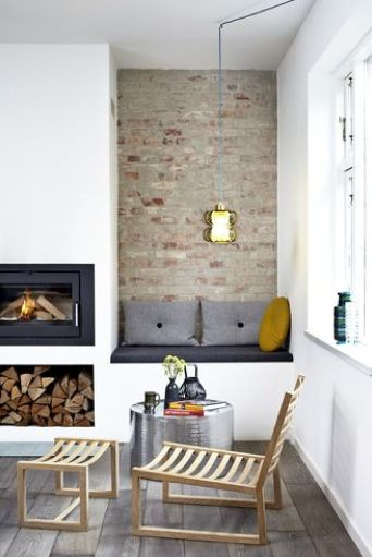 Scandinavian interior. Simple, natural shades. Come at peace!