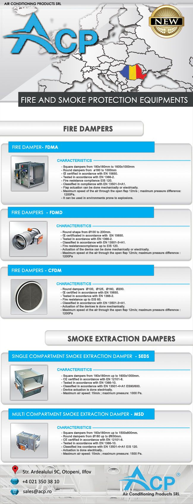 New products available for acquisition. Please visit our site or contact our sales department for more details