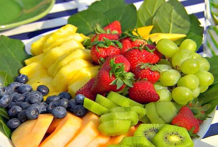 Fresh Fruit Platter Recipe Fruit Platters Ina Garten