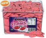 A bulk 1.4kg tub of Radical Pink Pastel Storms.